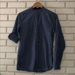 H&M small chambray button down